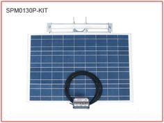130 watt solar for lighting