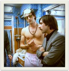 Adrien Brody and Jason Schwartzman from THE DARJEELING LIMITED. wes anderson, daughterofchaucer