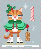 Katie Kitty - #1 of 25 Brooke's Books Advent Animal Freebies Collection by Brooke Nolan