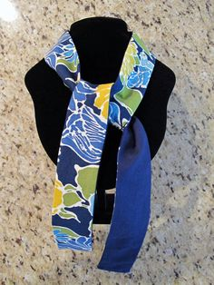 Cooling Neck Wrap! It's warming up outside! This one is inspired by the color of the BVIs! Turqouise and Blue waters, Palm Trees, and Yellow Seaweed floating in the ocean! Only $6.99