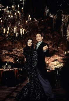 The Addams Family. Gomez & Morticia.