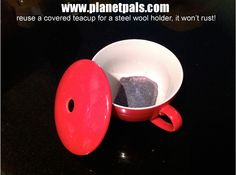 Clever reuse for a teacup!