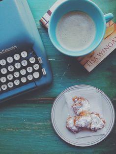 Connect Through Reading {Recipe: Banana Beignets}