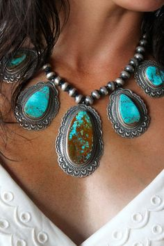 #turquoise necklace