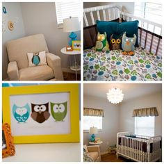 owl nursery cuteness