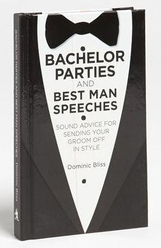 Sound advice for bachelor parties & best man speeches