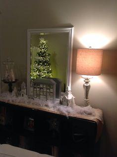 Shabby Chic Christmas On Pinterest White