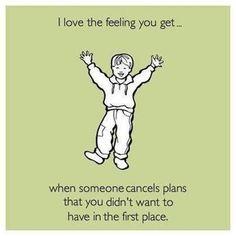 I love that feeling...