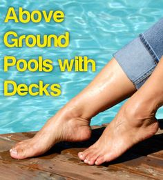 Check out the article: http://www.poolpricer.com/above-ground-pools-with-decks/