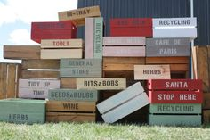 thebushelboxco.com - Shop for Wooden Crates.