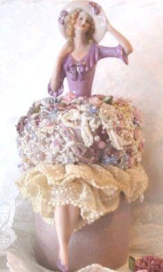Porcelain Half Doll