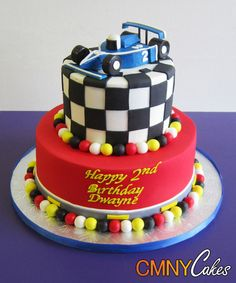 race car cakes for kids | Race Car Cake - CMNY Cakes