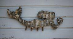 Mermaid Hat Rack/Beach House Decor ~by My Honeypickles