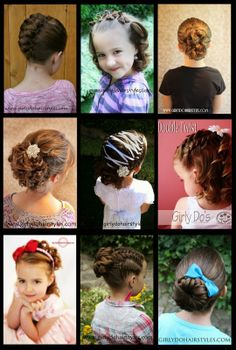 Girly Do Hairstyles: By Jenn: Easter Hairstyles Idea's #easter #hairstyles