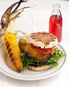 Cheddar-Horseradish Burgers Recipe
