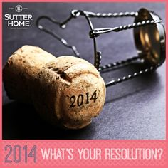 A new year means new, great things to celebrate. Cheers to your resolutions and to your successes!