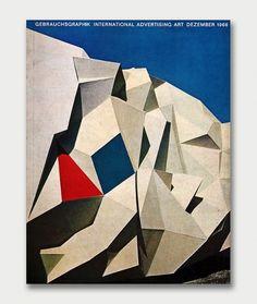 Gebrauchsgraphik Covers, 1966 / Aqua-Velvet