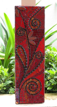 I THINK RED by mosaicdownunder/ Inge, via Flickr