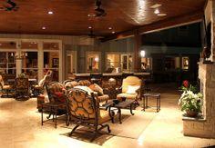 Outdoor Living Room, Houston, Katy, Stafford - Texas Custom Patios