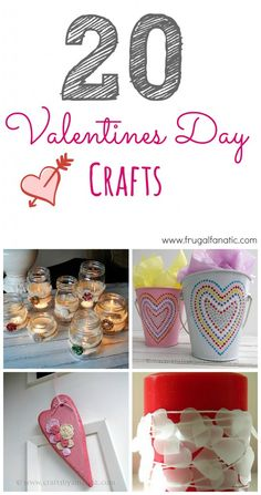 20 Valentines Day Crafts!