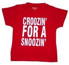 Just some days we are all Croozin for a Snoozin - Love this Australian Made T shirt.