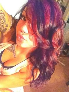 Red/ violet highlights for fall
