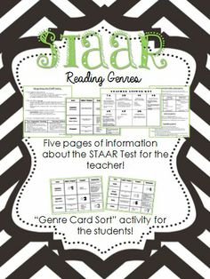 Understand the differences in the different genres on the STAAR Reading Test