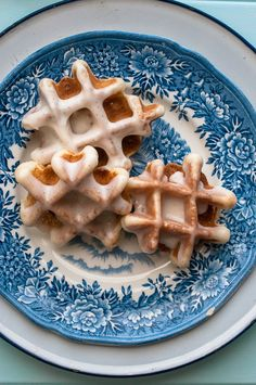 Sweet Treats: Vanilla Bean Waffle Doughnuts