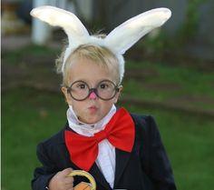 Alice In Wonderland: The White Rabbit Disney costume inspiration for school concert