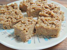 Fudge Peanut Butter Rice Crispy Treats