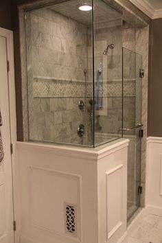 Bathrooms On Pinterest Shower Doors Subway Tiles And