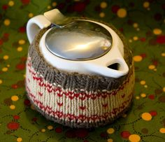 Rustic Tea Cozy Knitting Pattern