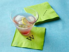 Transform a pack of discount #cocktail napkins into pretty #party #decor. #crafts
