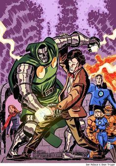 Doctor Doom vs Doctor Who