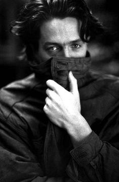 ♂ Black and white man portrait Mr. Hugh Grant