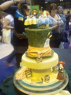 Alice in Wonderland cake - Cake International 2011. The ...