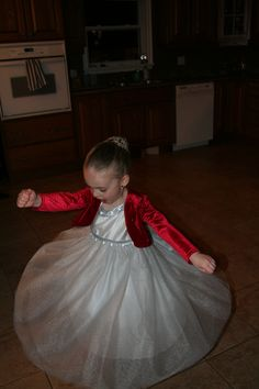 "This gorgeous little girl makes me want to twirl in my prettiest dress every chance I get!! Gotta love a good ""Twirling"" dress =)"
