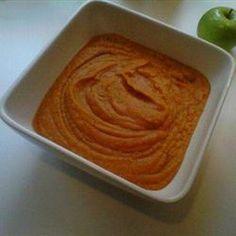 Sweet Potato, Carrot, Apple, and Red Lentil Soup - skip butter, yogurt
