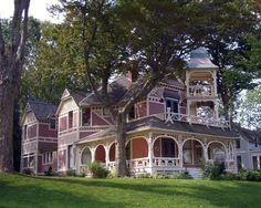 San Jose,California..an old late 1800s Victorian home