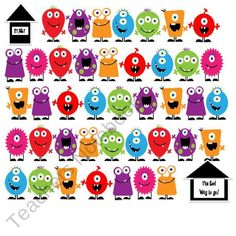 Kreative-in-Kinder Shop - | Teachers Notebook - FREE Monster Dice Game for early finishers
