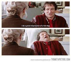 Ladies and gentlemen... Robin Williams.