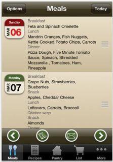 Menu Planner is a weekly meal planner's dream app!