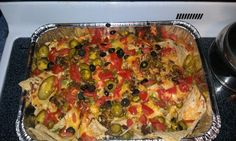 Nachos!!! Sunday football food :) go steelers!