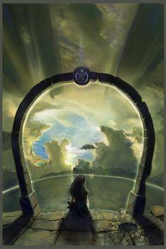 draw, circles, glasses, dreams, fantasi art, fantasi landscap, earth, blog, angels