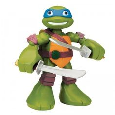The Teenage Mutant Ninja Turtles Half-Shell Heroes Mega Mutant Leo from Playmates Toys is an interactive 12-inch figure that's built for battle and roleplay.