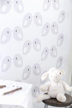 babykamer neutraal behang ~ lactate for ., Deco ideeën