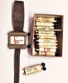 This fantastic contraption, called the 'Routefinder', showed 1920s drivers in the UK the roads they were travelling down, gave them the mileage covered and told them to stop when they came at journey's end.    The technology – a curious cross between the space age and the stone age – consisted of a little map scroll inside a watch, to be 'scrolled' (hence the word) as the driver moved along on the map. A multitude of scrolls could be fitted in the watch to suit the particular trip the driver fancied taking.