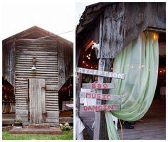 Vintage Style Barn Wedding Venue