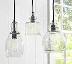 Paxton Glass Single Pendants