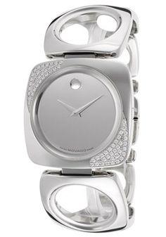 Women's Dolca Diamond Mirror Dial Stainless Steel